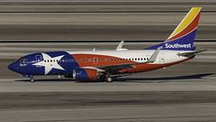 N931WN_LAS_Taxiing_In_Lone_Star_One (MAB757200) Tags: southwestairlines b7377h4 n931wn lonestarone aircraft airplane airlines airport jetliner las klas boeing mccarran taxiing