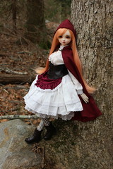 Little Red Riding Hood (pullip_junk) Tags: luts delf annamarie bjd balljointeddoll