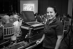 Stranger 87/100 (Stitch) Tags: 100strangers hellostranger stranger lady manager sound technician mandaluyong manila philippines portrait